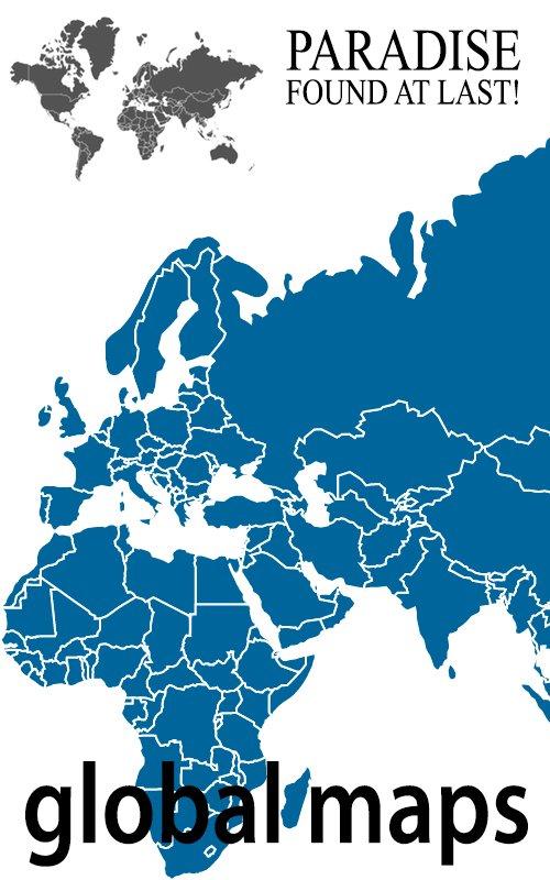 Mappe mondiali tematiche singole